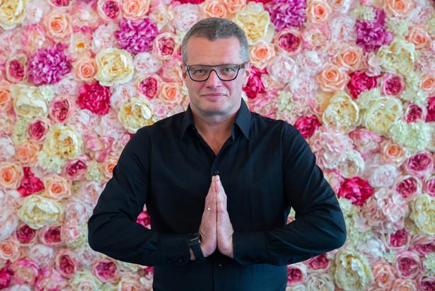 Marcin Meller publicysta, dziennikarz i prezenter telewizyjny fot. Maksymilian Rigamonti