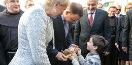 Piękny gest dziecka. Para prezydencka dostała prezent w Betlejem!