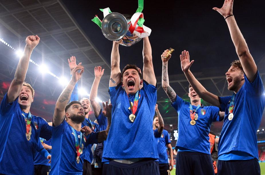 epa09338949 - BRITAIN SOCCER UEFA EURO 2020 (Final - Italy vs England)