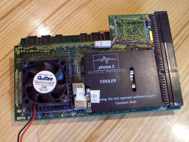 Wysłużona karta Blizzard PowerPC, źródło: autor