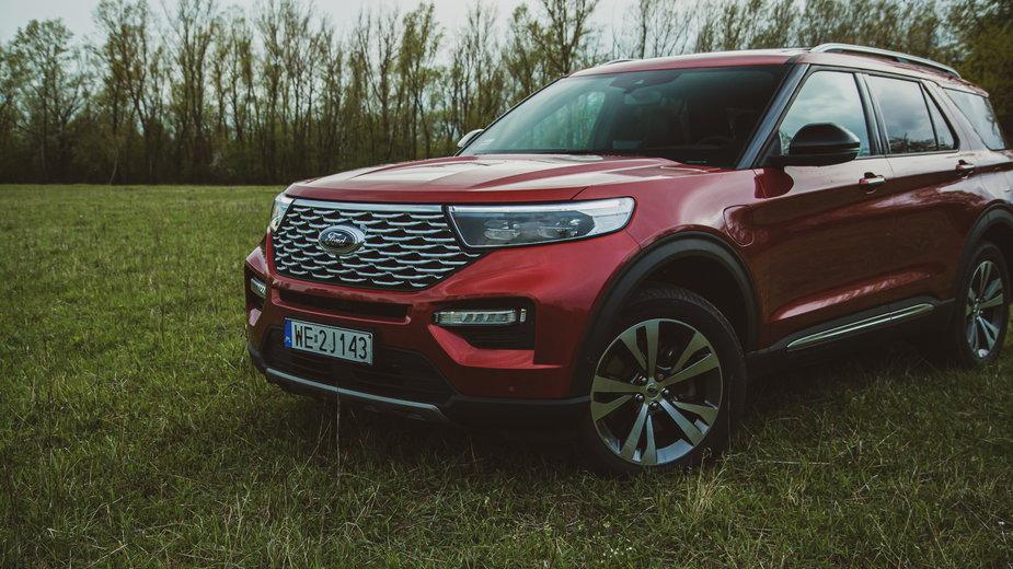Testujemy Forda Explorera