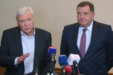 Marko Pavic DNS i Milorad Dodik SNSD