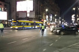 Obaranje pešaka Brankova ulica Beograd