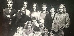 Dorociński pokazał zdjęcie sprzed lat. Poznajesz tych aktorów?