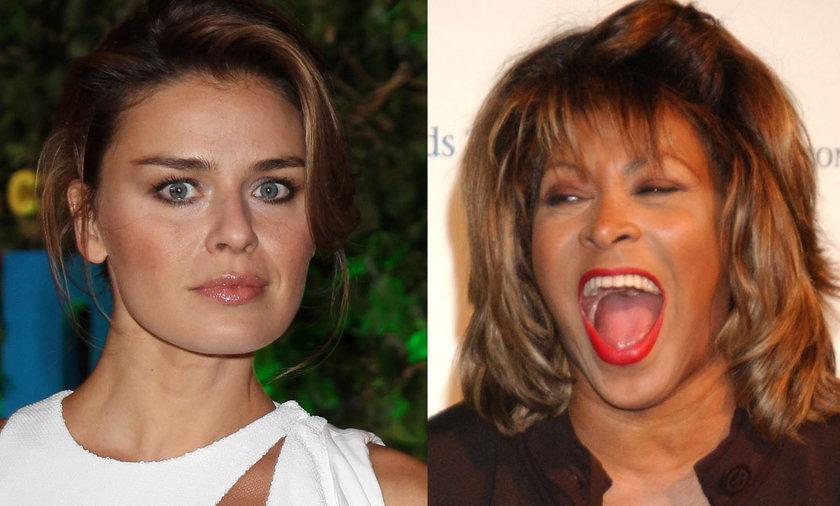 Tina Turner i Natasza Urbańska