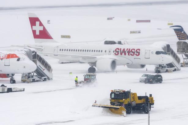 Zamknięte lotnisko w Genewie