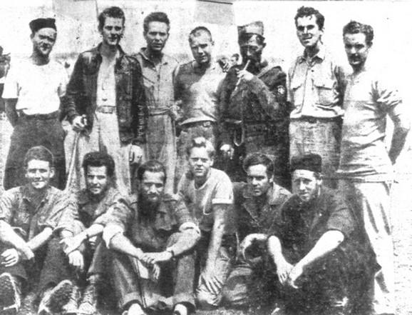Američki piloti i Draža Mihailović 1944. godine