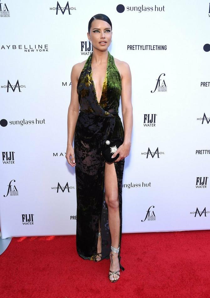 Adrijana Lima na dodeli modnih priznanja