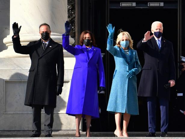 Douglas Emhoff Kamala Harris Jill Biden Joe Biden