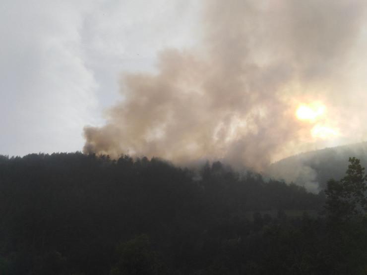 Požar kod manastira Studenica