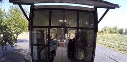 Dom w starym kontenerze. Zobacz zdjęcia
