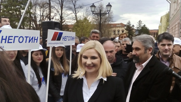 Zoran Mihajlović u Negotinu