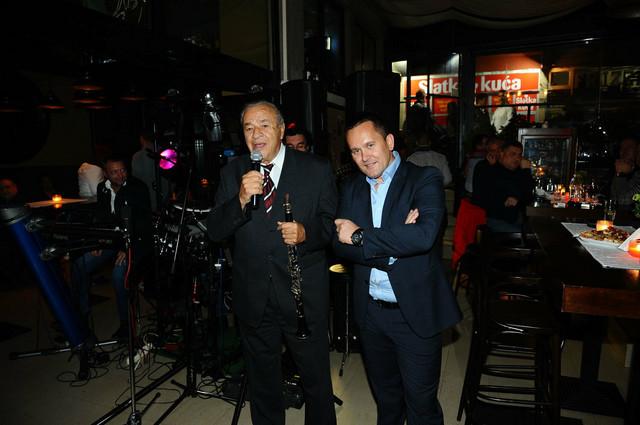 Boki Milošević i Bane Šević