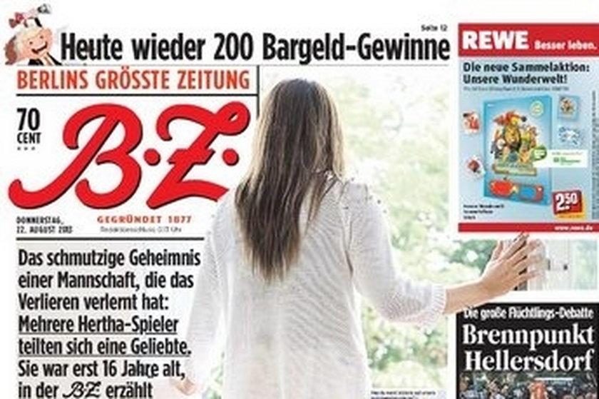 Seks-skandal w zespole Herthy Berlin