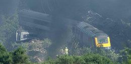 Katastrofa kolejowa w Szkocji. Trzy osoby nie żyją, wielu rannych