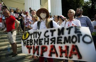 Białoruś: Bunt w teatrze Kupały po zwolnieniu dyrektora za poparcie protestu