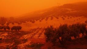 Afrykański pył nad Kretą