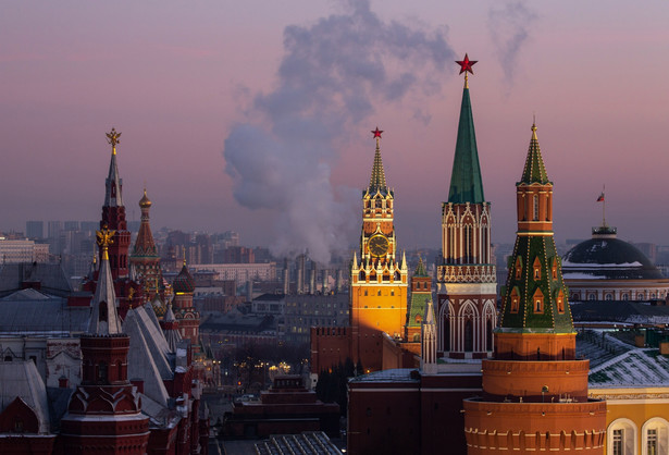 Kreml, Moskwa, Rosja. 11.12.2020