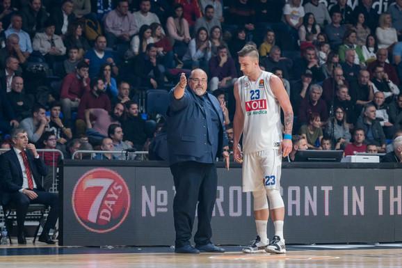 Aleksandar Džikić sa Alenom Omićem