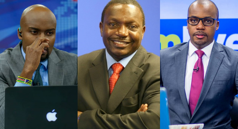 Mark Masai, Edmond Nyabola and Emmanuel Juma). Why these 3 NTV news anchors may spend 6 months at Industrial Area GK Prison