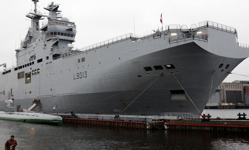 okręt wojenny Mistral