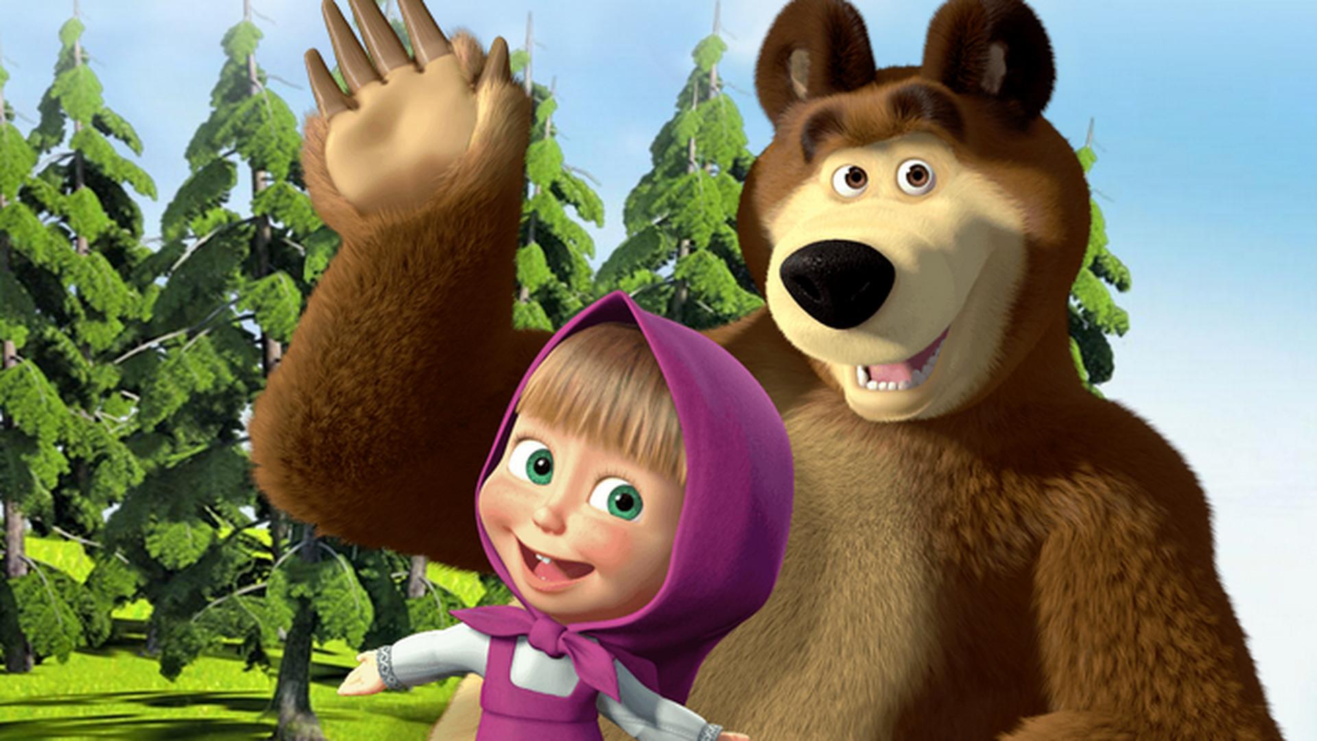 Резултат слика за маша и медвед
