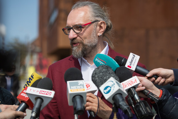 Lider Komitetu Obrony Demokracji Mateusz Kijowski
