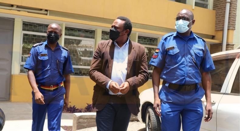 Businessman Mukuria Ngamau