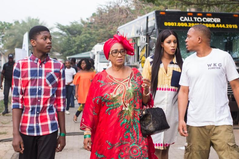 Naeto C and his family arrives at Superfest 2018