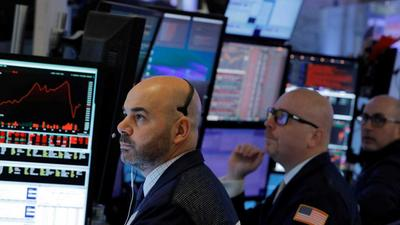 US stocks trade mixed as investors weigh impact of new economic data on Fed policy