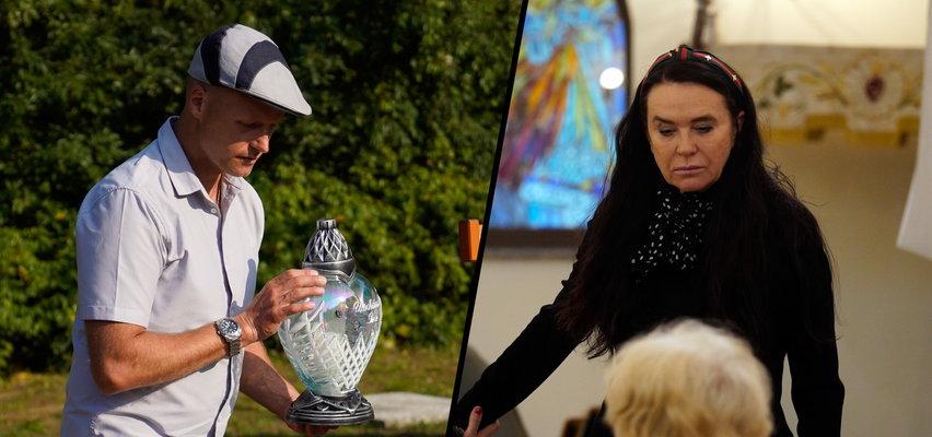 Smutne urodziny na grobie Krzysztofa Krawczyka. Junior przybył na mogiłę na długo przed wdową [ZDJĘCIA]