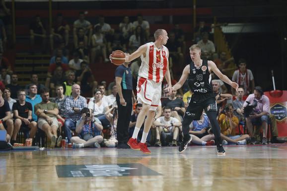 Detalj sa trećem meča finalne serije između Crvene zvezde i Partizana