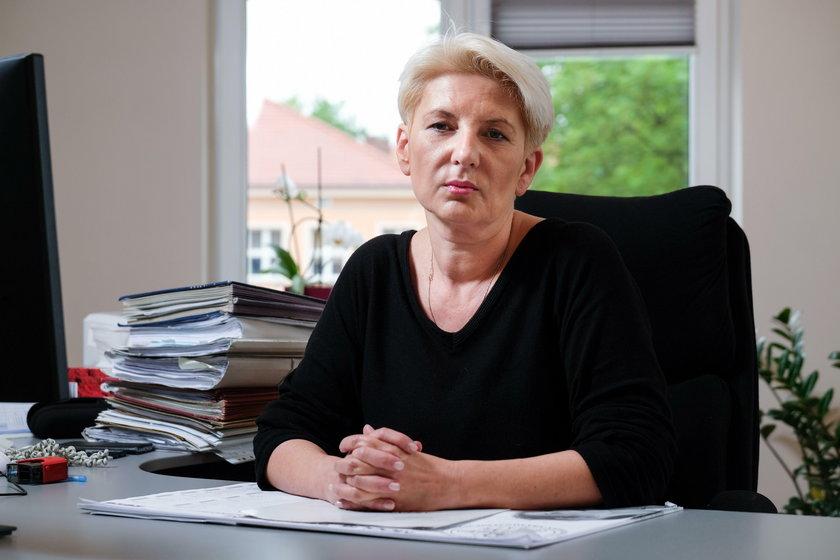 Prok. Monika Stalmach z Prokuratury Rejonowej w Tychach