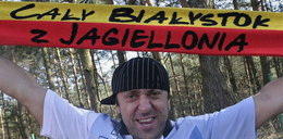 Król disco-polo wspiera Jagiellonię