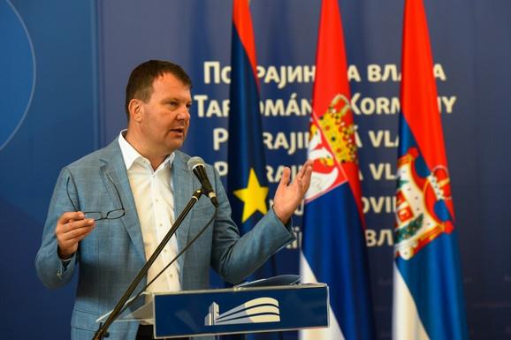 Igor Mirović na današnjoj pres konferenciji
