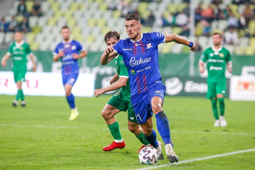 Gergo Kocsis (26 l.) obecnie występuje w Podbeskidziu i jest wyceniany na 250 tysięcy euro