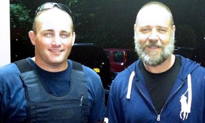 Russell Crowe i Robert Siwiecki