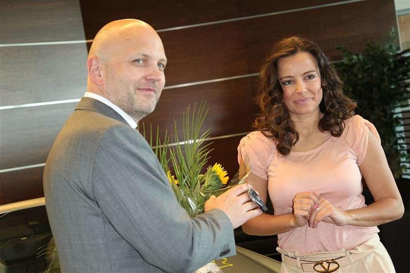 Anna Mucha dostała mercedesa za darmo