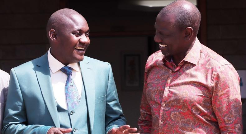 DP Ruto unveils Urbanus Mutunga Muthama Ngengele as his candidate for the Machakos Senatorial by-election