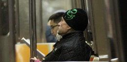 Gwiazdor jeździ metrem. Sam to zobacz!