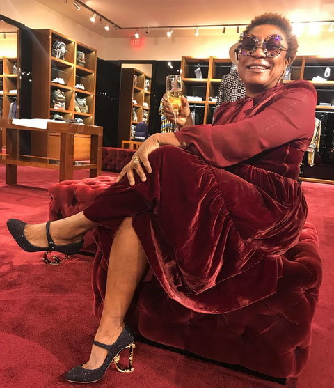 Burna Boy has revealed why his mum collected the BET award on his behalf despite attending the awards ceremony [Instagram/TheNamix]