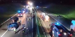 Straszna śmierć po kolizji na autostradzie. Nie żyją dwie kobiety