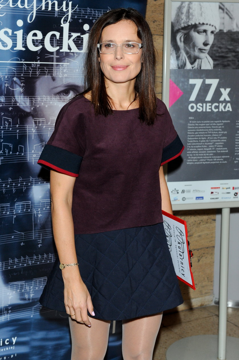 "Magdalena Kumorek na ""77xOsiecka"""
