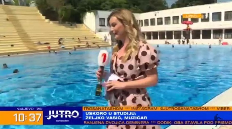 Srpska voditeljka u Beogradu naišla na dvojicu Hrvata, a zbog onoga što su joj rekli u programu uživo POTPUNO SE ZBUNILA