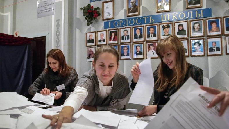 """Moskwa uznała wybory w Donbasie. """"Szanujemy wolę mieszkańców"""""""