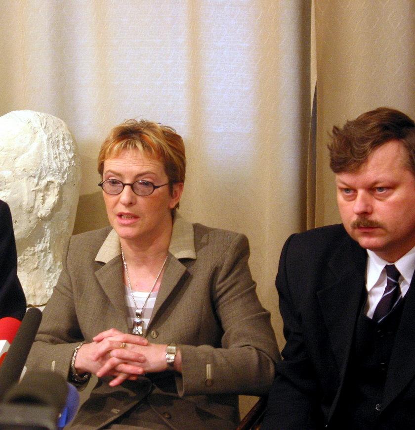 Ewa Kopacz i Marek Susk