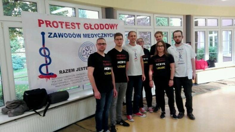 Po Warszawie i Szczecinie dziś głodówkę rozpoczęli lekarze z Łodzi