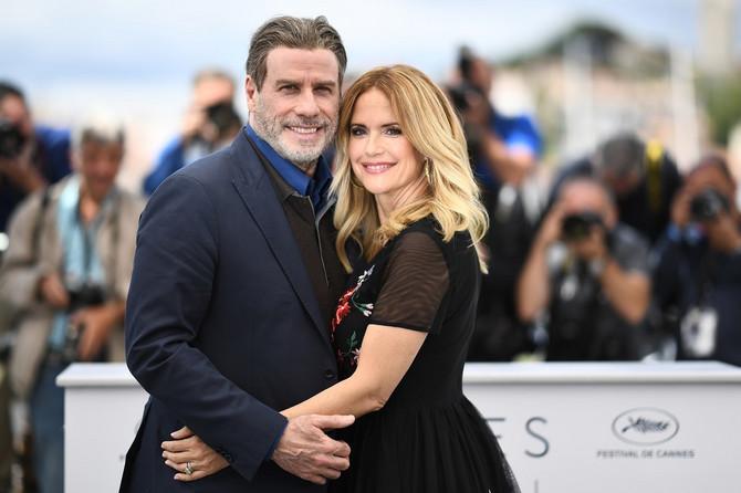 Džon Travolta sa suprugom Keli