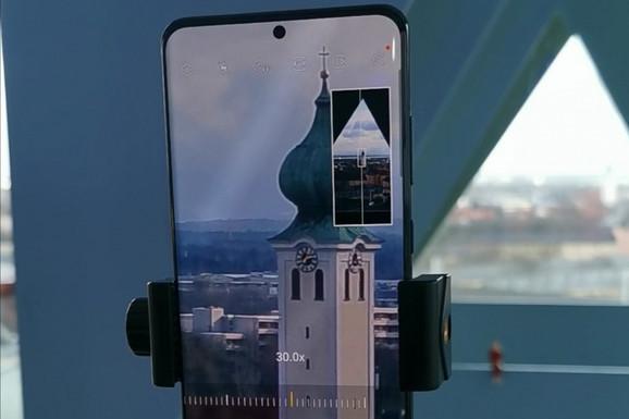 Android vest Kako radi 100x optički zum na Galaxy S20 Ultra