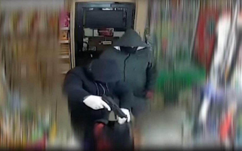 Napad na sklep w Gdańsku